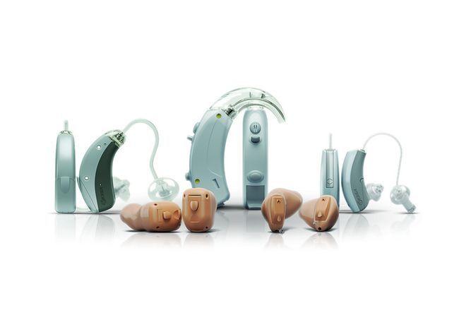 Асортимент слухових апаратів компанії widex