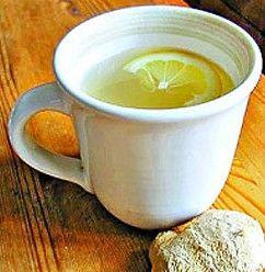 Напій від застуди з імбиром, лимоном і медом