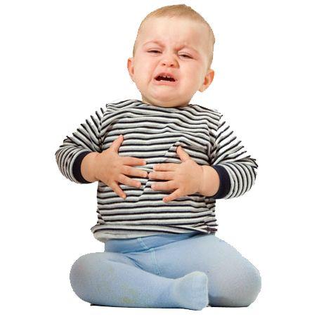 Біль в животі у малюка