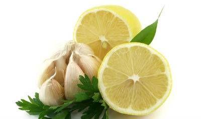часник з лимоном
