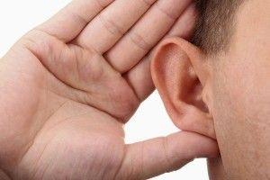 Напруга слуху через приглухуватості