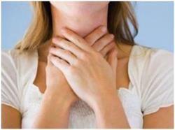 Біль в області щитовидної залози