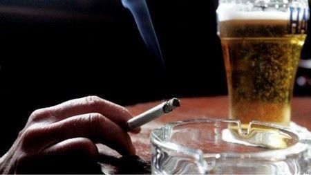 Сигарети і алкоголь