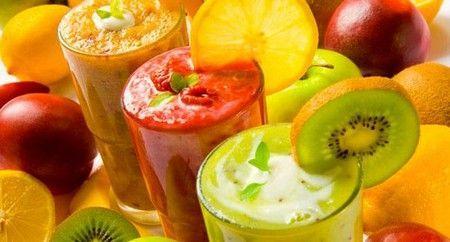 Смузі з різних фруктів
