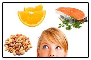 Правильне харчування для зниження рівня кортизолу - колаж