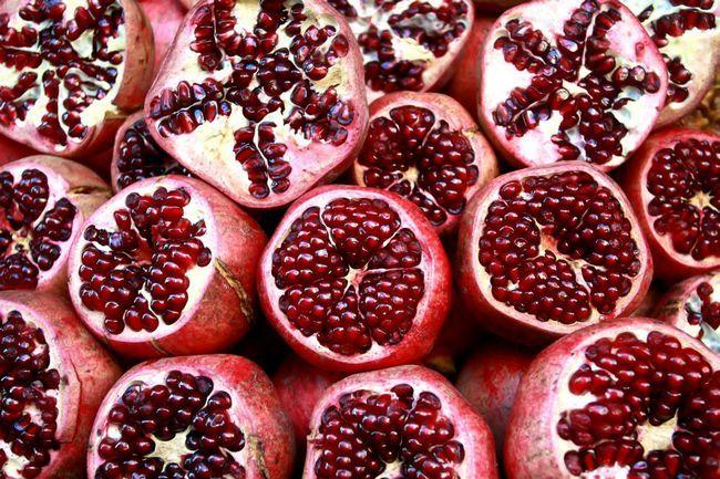 Гранат фрукт корисні властивості