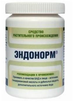 Інструкція по застосуванню препарату ендонорм