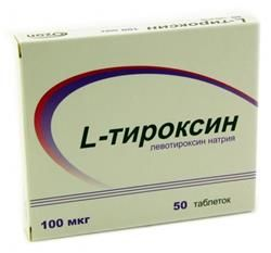 Інструкція по застосуванню препарату тироксин