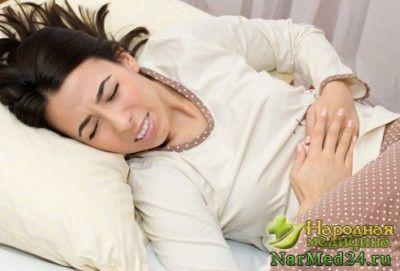 пронос супроводжується різкими болями в животі