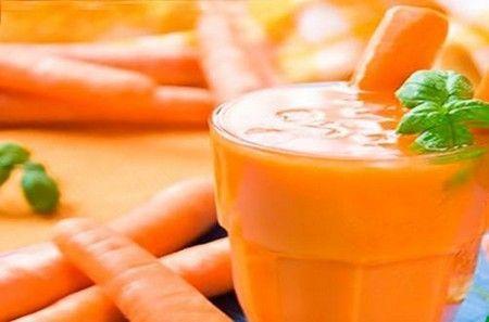 Морквяно-яблучний напій
