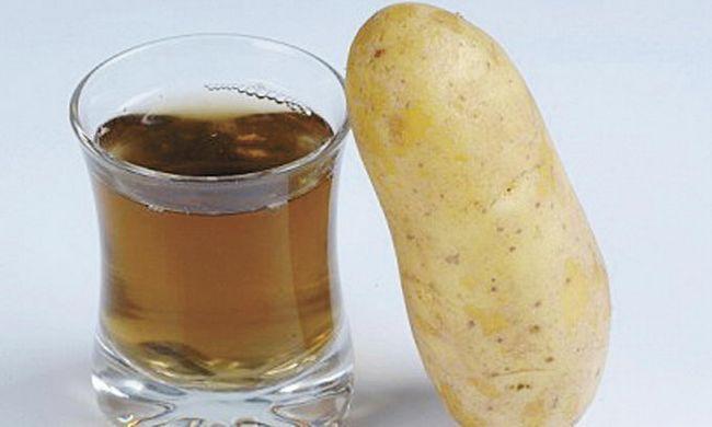 Чи ефективно лікування шлунка картопляним соком?