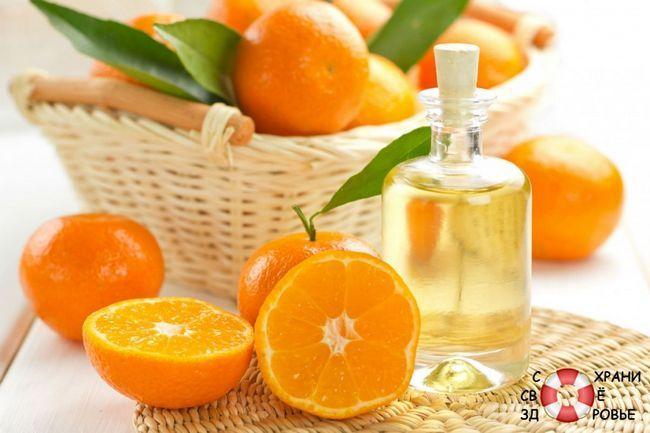Масло апельсина. застосування