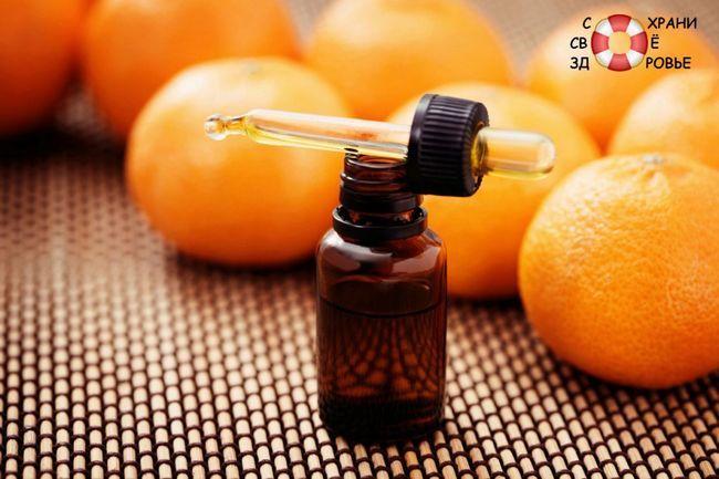 Ефірна олія апельсина для волосся