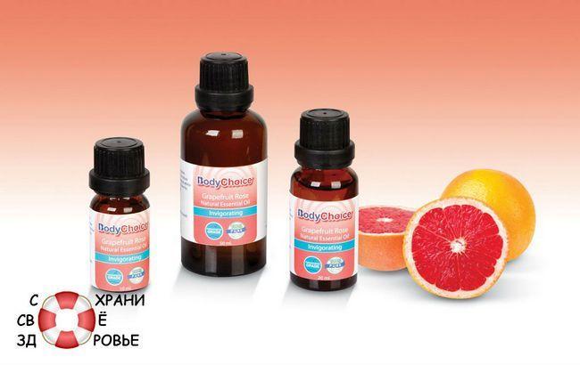 Масло грейпфрута. властивості