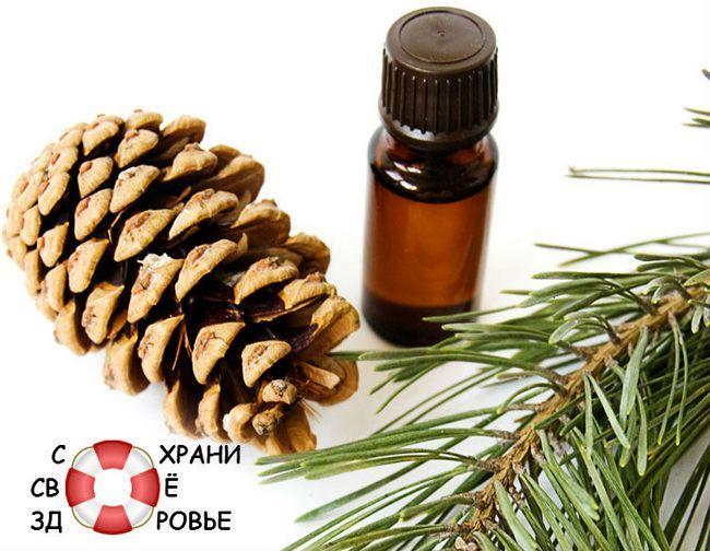 Ефірна олія сосни для волосся