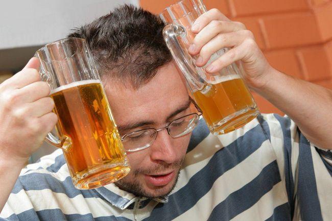 Набряк обличчя алкоголь