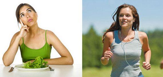 Менше їсти і більше рухатися