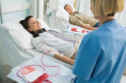 Донори здають кров
