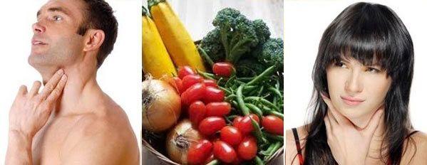 При гіпотиреозі важливо дотримуватися дієти