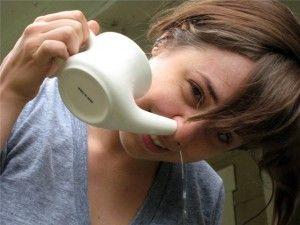 Як промити ніс в домашніх умовах