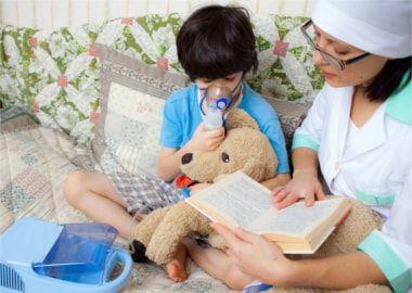Інгаляція дитині при ларинготрахеите