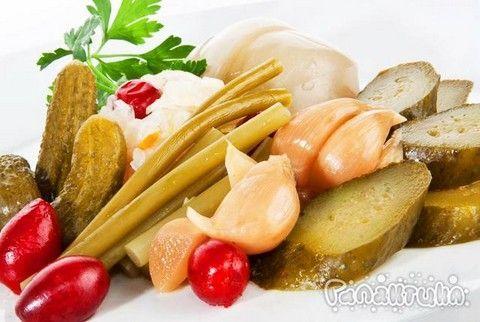 мариновані овочі