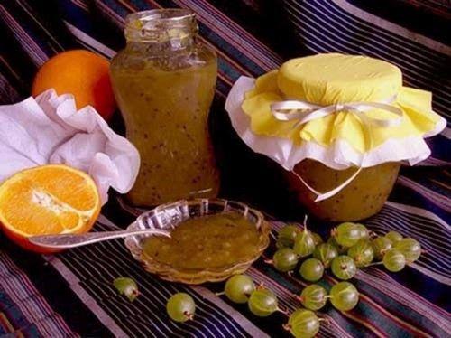 Агрус з апельсином
