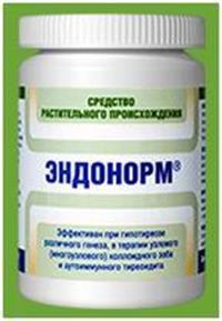 Лікування аутоімунного тиреоїдиту за допомогою ендонорма