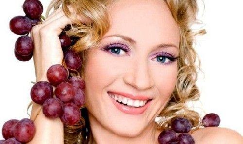 Масло виноградних кісточок для волосся