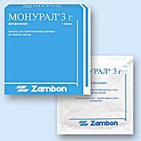 Монурал - засіб для лікування циститу