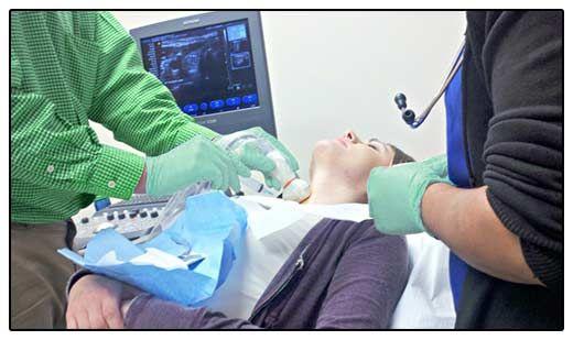 Фото пункції щитовидної залози