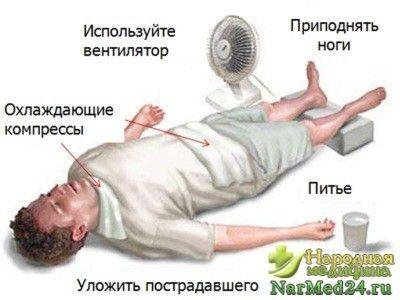 допомога при тепловому ударі