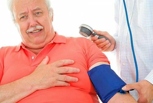 Підвищений тиск і біль в серці