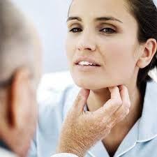 пальпірованіе щитовидної залози