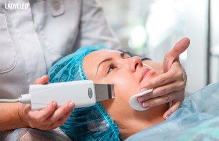 Особливості ультразвукової чистки обличчя