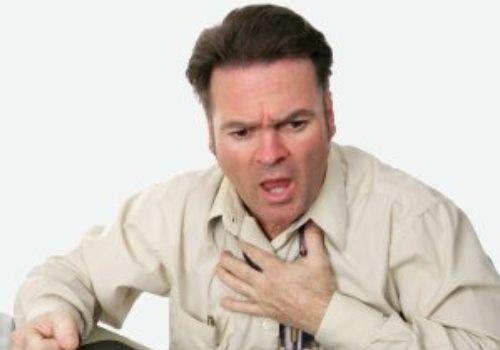 Задишка і біль в грудях