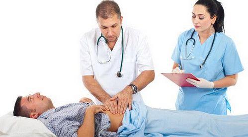 Пальпація підшлункової залози
