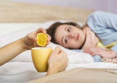 Чай з лимоном від ангіни