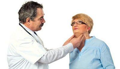 Пальпація щитовидної залози