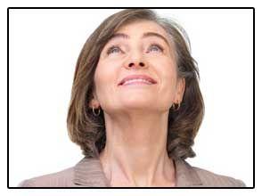 Фото жінки не має наслідків видалення щитовидної залози