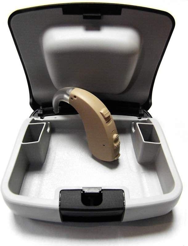 Слуховий завушний апарат