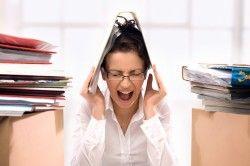Стреси - одна з причин появи ранніх місячних