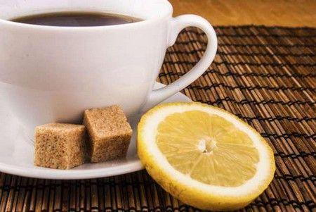 Пряний кави з лимоном
