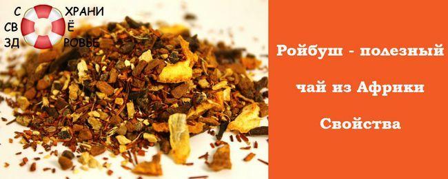 Ройбуш - чай, який нам подарувала африка. Його корисні властивості