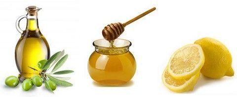 Масло, мед і лимон