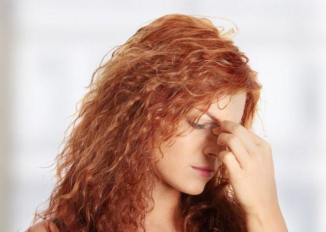 Симптоми гаймориту у дорослих