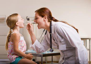 Діагностика катарального фарингіту у дитини
