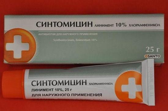 Як правильно застосовувати синтомициновую мазь
