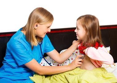 Діагностика стенозу гортані у дівчинки