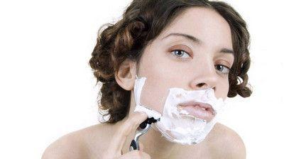 Чоловічі ознаки у жінок на обличчі